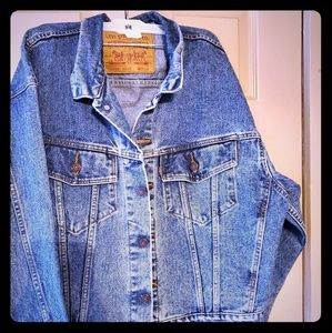 Vintage Red Tag Levi's Jean jacket